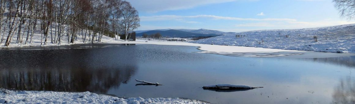 Our lochan in winter