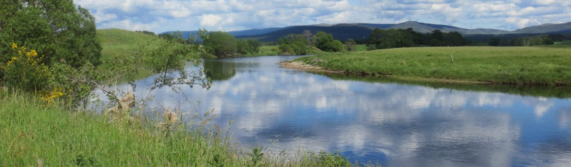 River Spey below cottage