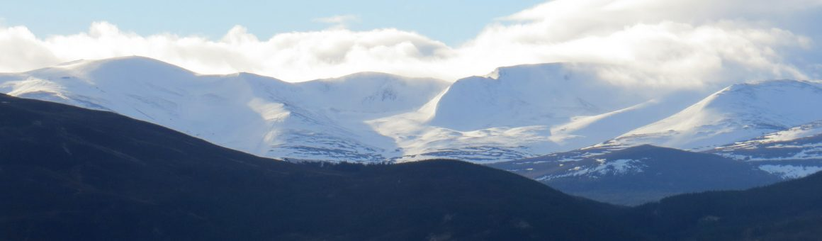 Cairngorms from Boat of Garten